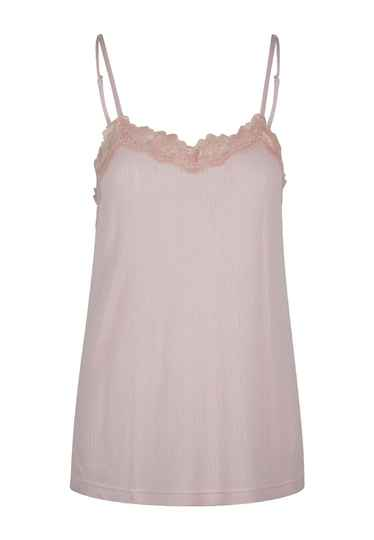 LingaDore Spaghetti Top Pale Blush (6414)