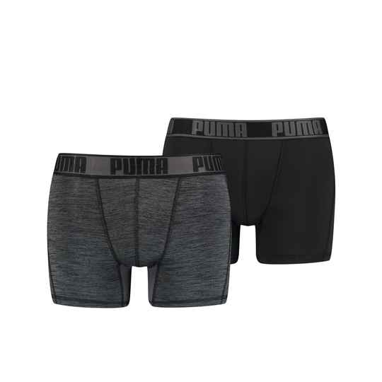Boxer Men Active Style Black/grey (2-pack, 671018001-200)
