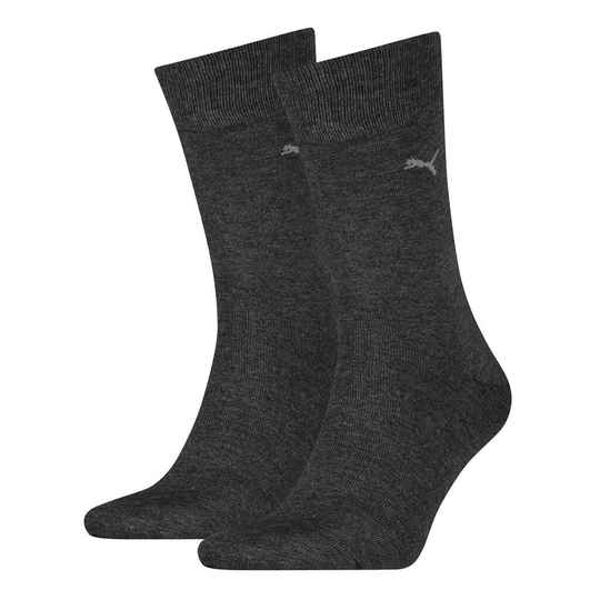Classic Sock Soft Cotton Anthracite (2 paar, 272001001)