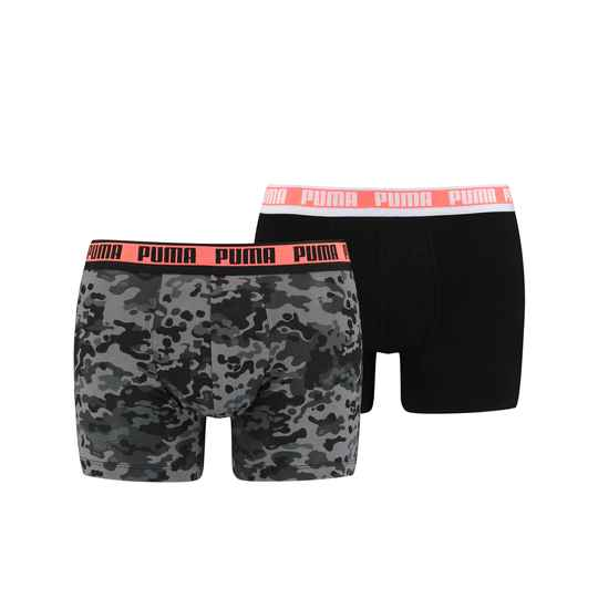 Puma Basic Boxer Black Combo 2-Pack (100001141-004)