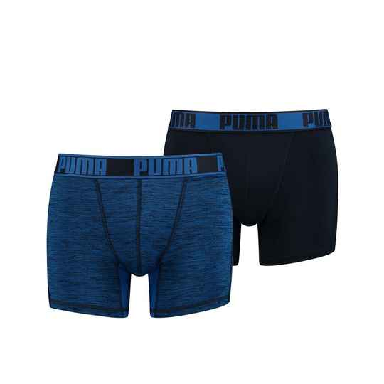 Boxer Men Active Style Blue (2-pack, 671018001-001)