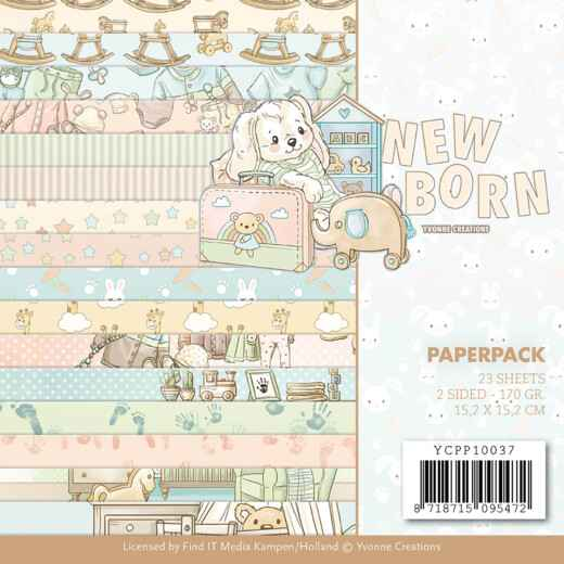 Paperpack - Yvonne Creations - Newborn   YCPP10037