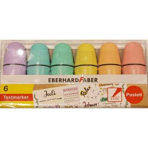 Terenure Office Supplies Eberhard Faber Mini Pastel Highlighters