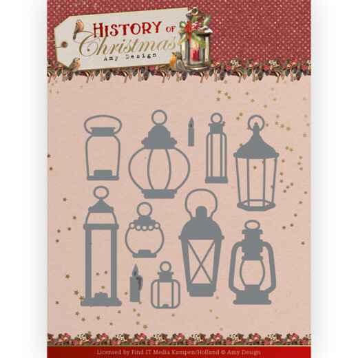 Amy Design - History of Christmas - All Kinds of Lanterns   ADD10248