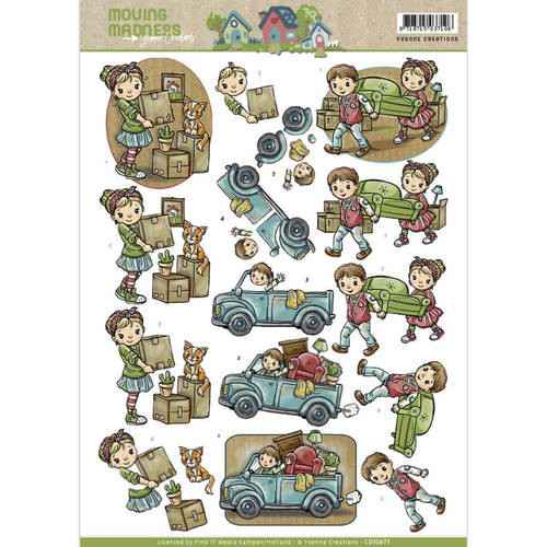 Yvonne Creations - Moving Madness - Movers  CD10873