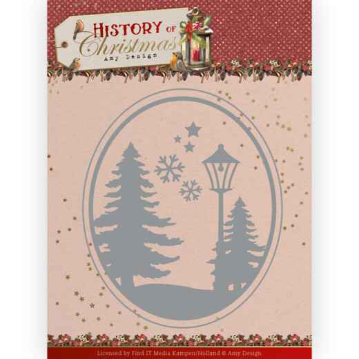Amy Design - History of Christmas - Christmas Landscape   ADD10244