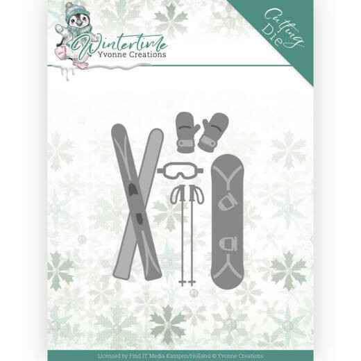 Yvonne Creations - Winter Time - Ski Accessories   YCD10219