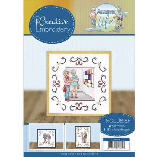Creative Embroidery 9 - Yvonne Creations - Active Life  CB10009