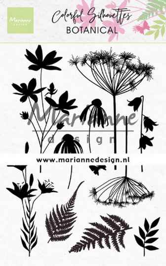 Clear stamp Colorful Silhouette - Botanical  CS1048
