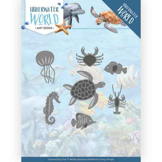 Amy Design - Underwater World - Ocean Animals  ADD10212