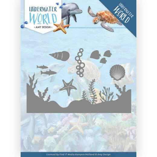 Amy Design - Underwater World - Sea Life  ADD10211