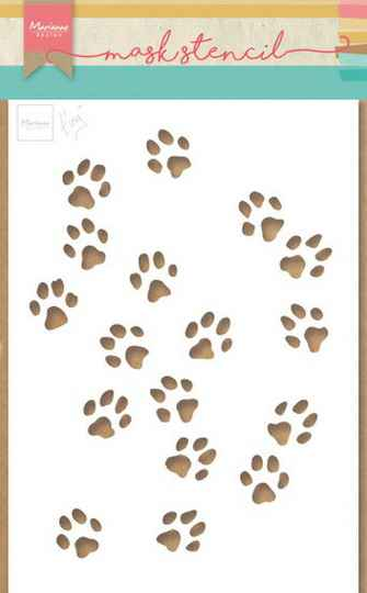 Craft stencil Tiny's cat paws - PS 8029