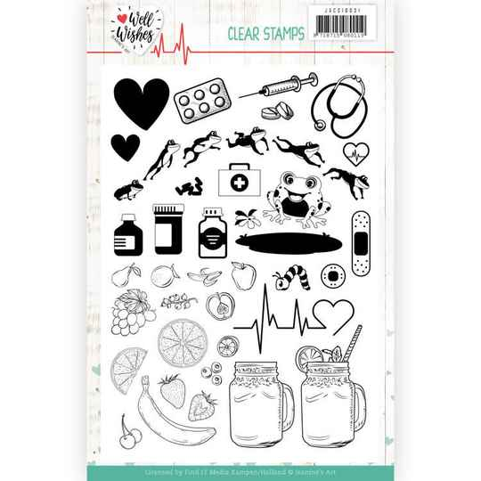 Clear Stamps - Jeanine's Art - Well Wishes   JACS10031