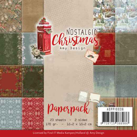 Paperpack - Amy Design - Nostalgic Christmas  ADPP10036