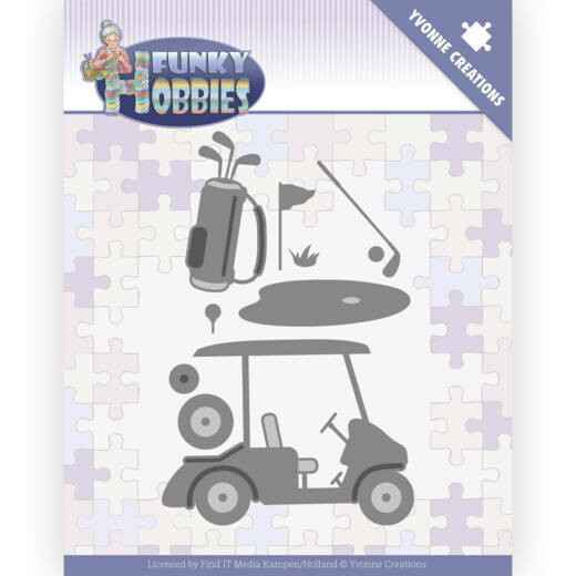 Yvonne Creations - Funky Hobbies - Golf    YCD10229