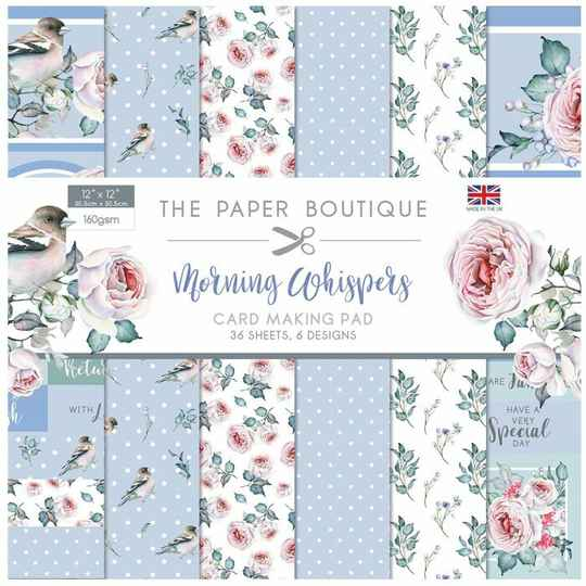 Paper Boutique • Morning whispers 12x12 inch  PB1308