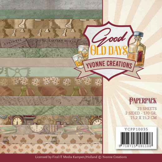 Paperpack - Yvonne Creations - Good old day's    YCPP10035
