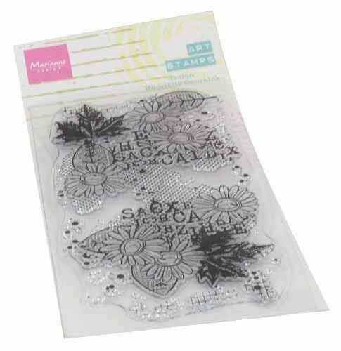 Clear Stamps Art stamps Chrysant MM1633