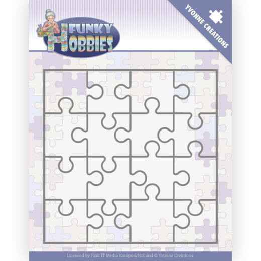 Yvonne Creations - Funky Hobbies - Puzzle    YCD10226