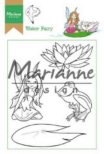 Clear stamp Hetty`s water fairy - HT1646