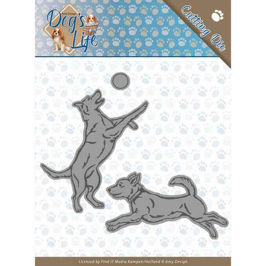 Amy Design - Dogs - Playing Dogs  ADD10190