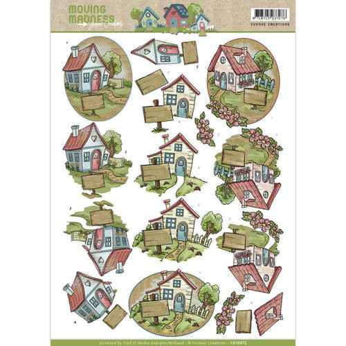 Yvonne Creations - Moving Madness - Houses  CD10872