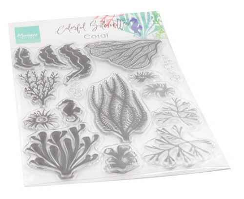 Clear stamp Coral  CS1062
