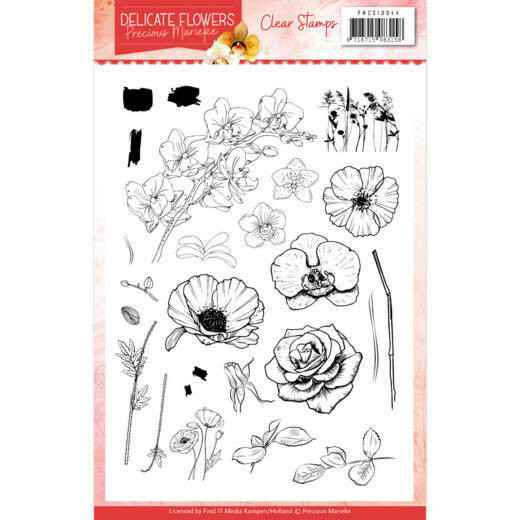Clear Stamps - Precious Marieke Delicate Flowers  PMCS10044