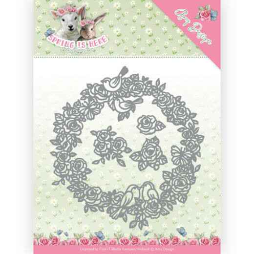Amy Design - Spring is Here - Circle of Roses - ADD10166