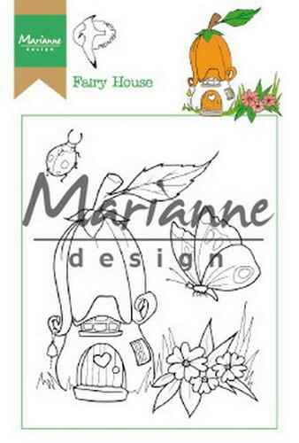 Clear stamp Hetty`s fairy house - HT1641