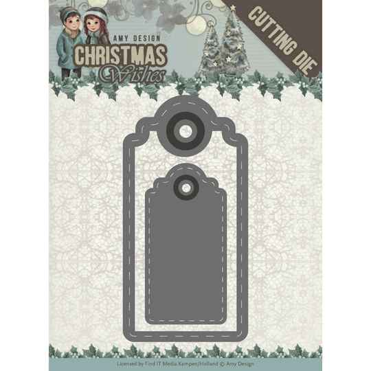Amy Design – Christmas Wishes – labels ADD10153