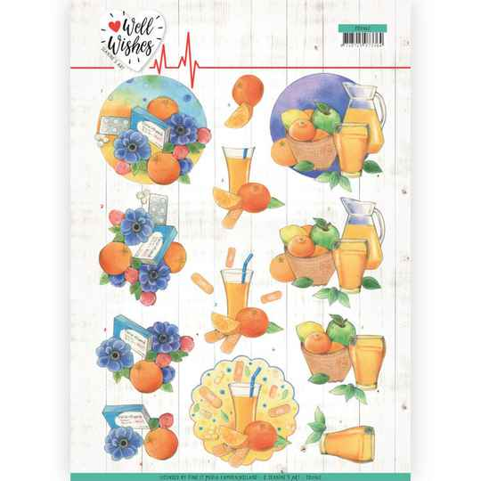 Jeanine's Art - Well Wishes - Pills and Vitamins    CD11462