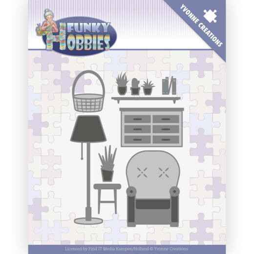 Yvonne Creations - Funky Hobbies - Living Room   YCD10227