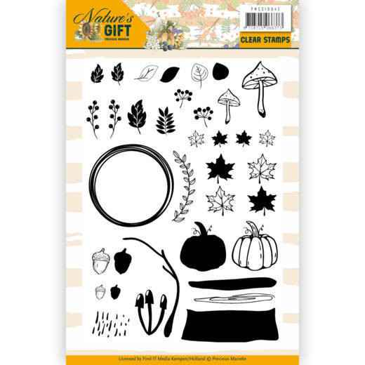 Clear Stamps - Precious Marieke - Nature's Gift PMCS10042