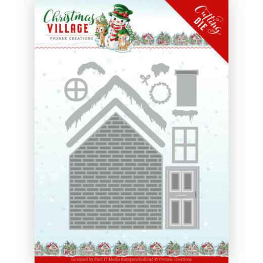 Yvonne Creations - Christmas Village - Build Up House   YCD10209