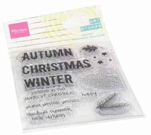 Clear Stamps Art stamps Hello Fall (ENG) MM1630