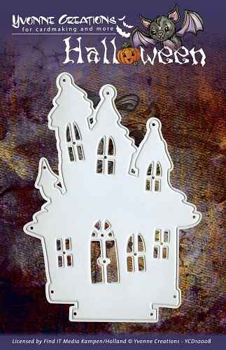 Yvonne Creations - Halloween - Haunted House   YCD10008