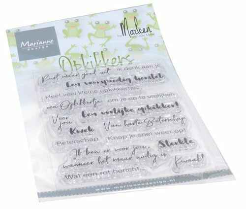 Clear Stamps Opkikkers by Marleen (NL) CS1065