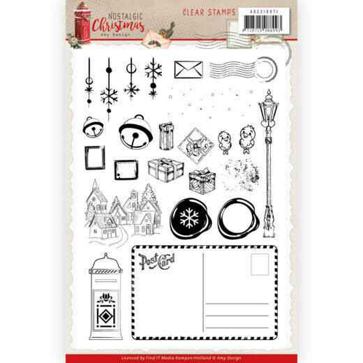 Clear Stamps - Amy Design - Nostalgic Christmas  ADCS10071
