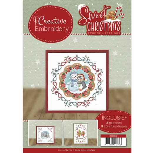 Creative Embroidery 6 - Yvonne Creations - Sweet Christmas