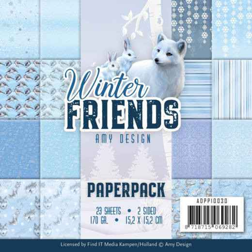Paperpack - Amy Design - Winter Friends  ADPP10030