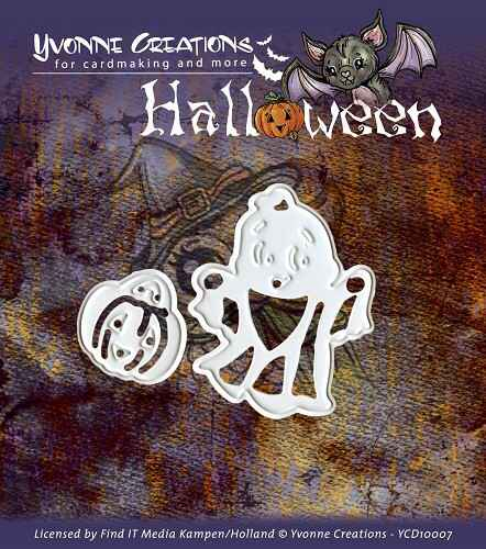 Yvonne Creations - Halloween - Little ghost   YCD10007