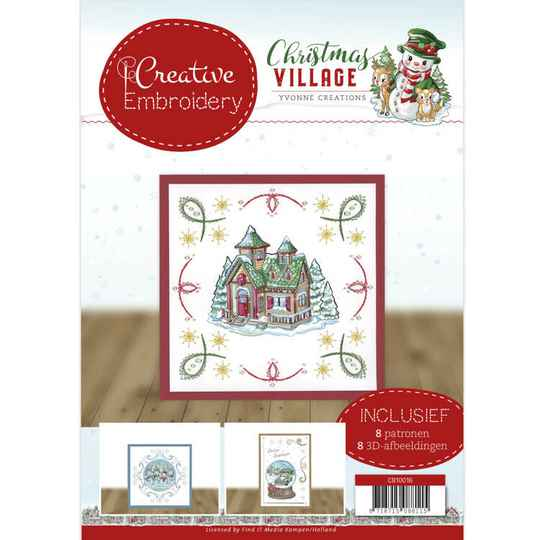 Creative Embroidery 16 - Yvonne Creations - Christmas Village   CB10016