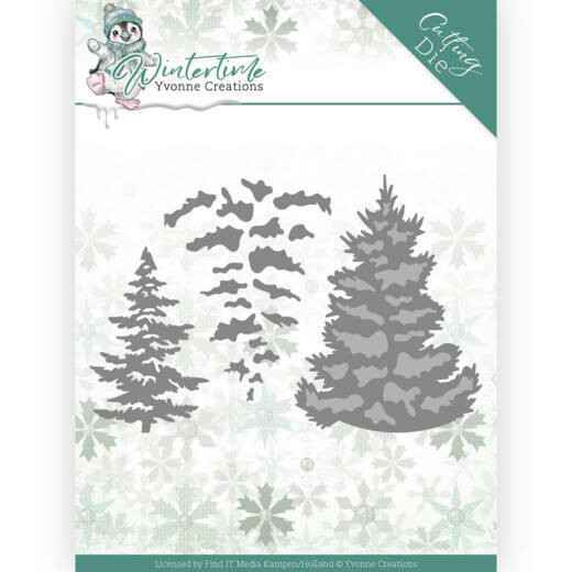Yvonne Creations - Winter Time - Pine Tree  YCD10216