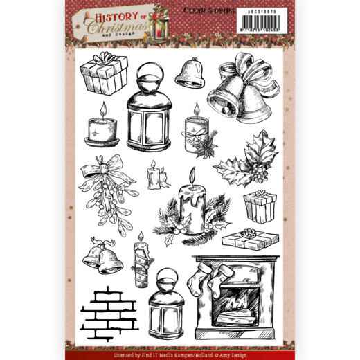 Clear Stamps - Amy Design - History of Christmas   ADCS10075