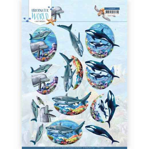 Amy Design - Underwater World - Big Ocean Animals   CD11499