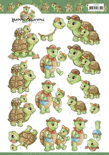 Yvonne Creations - Turtle Mommy -    CD11410