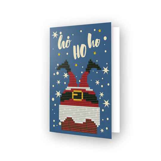 Diamond Dotz® - Greeting Card HO HO HO