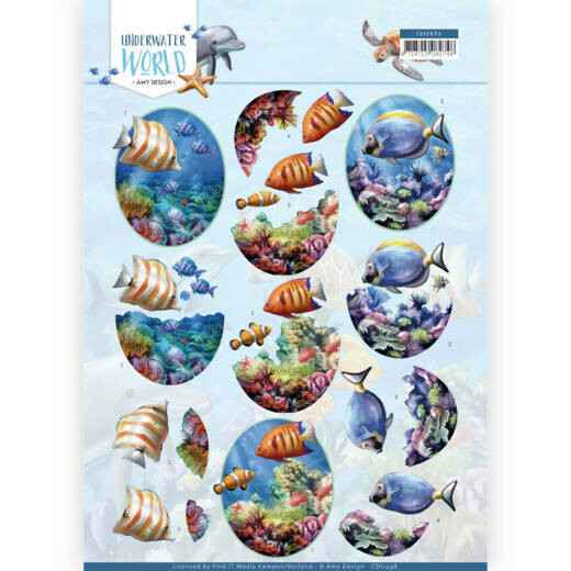 Amy Design - Underwater World - Saltwater Fish  CD11498