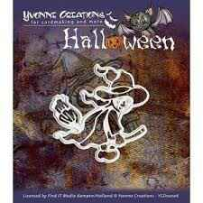 Yvonne Creations Halloween Witch - YCD10006